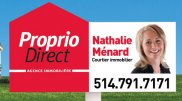 Nathalie Ménard courtier immobilier Proprio Direct