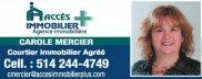 Carole Mercier Courtier Immobilier Accès Immobilier Plus