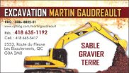 Excavation Martin Gaudreault inc