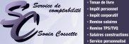 Service de comptabilité Sonia Cossette