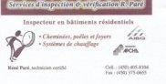 Inspection et Vérification R.Paré
