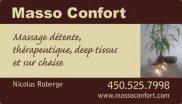 Masso Confort Nicolas Roberge