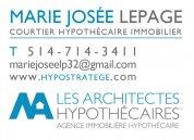 Marie-Josée Lepage Courtier Hypothécaire