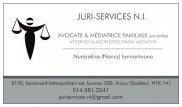 Juri-Services N.I. Avocate & Médiatrice familiale