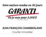 Jean-François Chamberland Votre Maison Vendue GARANTI ou je l'achète