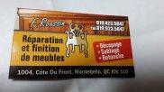F. Roussin Finition de Meuble