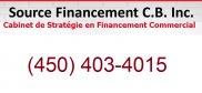 Source Financement C B Inc