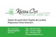 Karina Cyr Fiscalité, CPA Inc