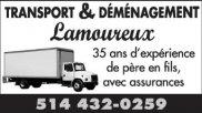 Transport & Déménagement Lamoureux