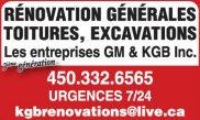 Les Entreprises GM & KGB Inc.