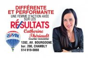 CATHERINE THERIAULT Courtier immobilier REMAX PLUS