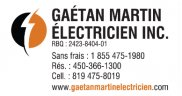 Gaétan Martin Électricien Inc.
