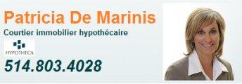 Patricia De Marinis Courtier immobilier hypothécaire Hypotheca
