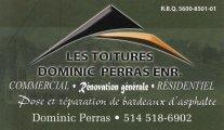 Les Toitures Dominic Perras Enr.