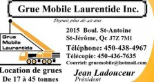 GRUE MOBILE LAURENTIDES INC