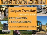 TRANSPORT ET EXCAVATION JACQUES TREMBLAY