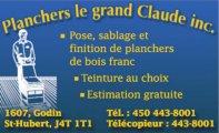 Planchers le Grand Claude