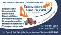 Excavation Louis Richard Inc