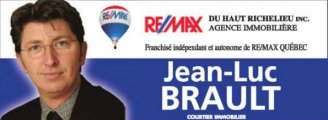 JEAN-LUC BRAULT Courtier immobilier Remax