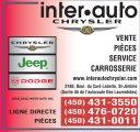Giraldeau Inter-Auto Chrysler Jeep Dodge Inc