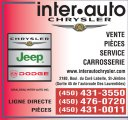 Giraldeau Inter-Auto Chrysler Jeep Dodge Inc