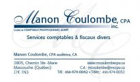 Manon Coulombe CPA Inc