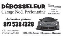 Débosseleur Garage Noél Préfontaine