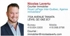 Courtier Immobilier Nicolas Lavertu