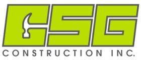 CSG construction inc.