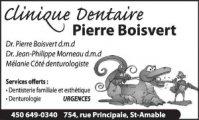 Clinique Dentaire Pierre Boisvert