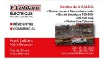 F. Leblanc Éléctrique Inc.