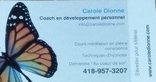 Carole Dionne , Coach en Développement Personnel