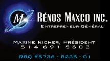 Rénos Maxco Inc