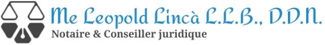 Notaire et Conseiller juridique Me Leopold Lincà
