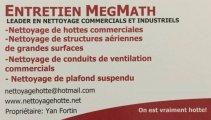 Entretien MegMath - Nettoyage de Hotte Commerciale
