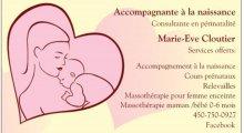 Accompagnante à la naissance Marie-Eve Cloutier
