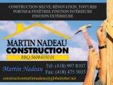 CONSTRUCTION MARTIN NADEAU INC