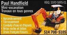 Paul Handfield Excavation