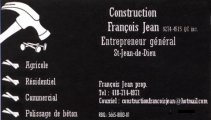 Construction François Jean