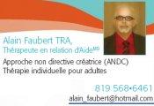 Alain Faubert TRA Thérapeute en relation d'aide