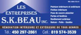 Entreprises S.K.Beau inc