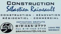 Construction Sébastien Raineault Inc
