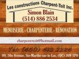 Les Constructions Charpent-Toit Inc.