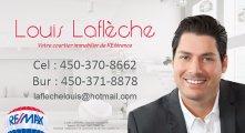 Louis Lafleche Courtier immobilier Remax DÉFI