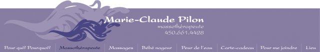 Marie-Claude Pilon Massothérapeutes