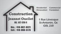 Construction Jeannot Ouellet