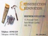 Construction et Rénovation Berthier Ouellet Inc.