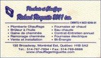 PLOMBERIE ET CHAUFFAGE RICHARD RINGUETTE 2011 INC