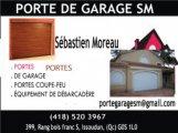 PORTE DE GARAGE SM