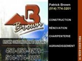 BROWN CONSTRUCTION & FILS INC